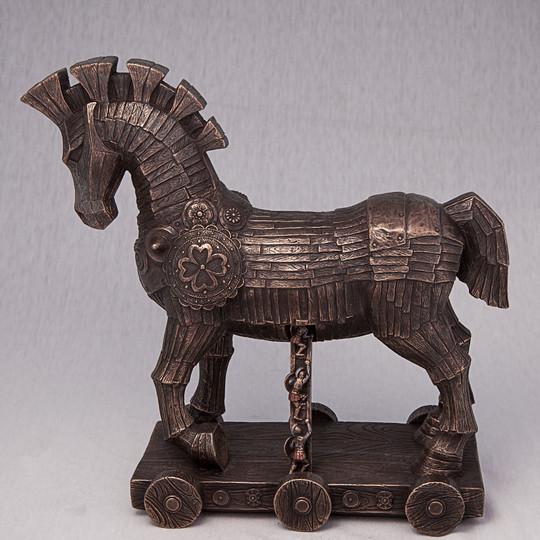 Статуэтка Троянский конь Veronese Италия (26*25 см) 75720 V4