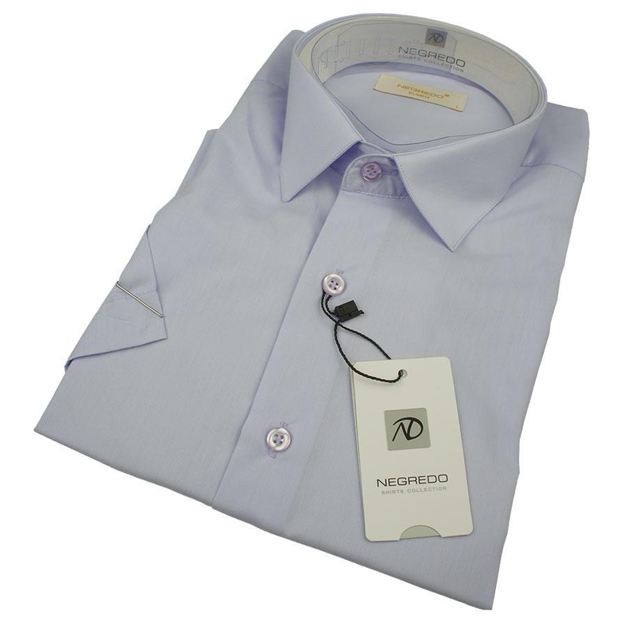 Чоловіча сорочка Negredo 31082 Slim бузкового кольору