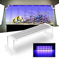45CM 18W Сенсорный переключатель LED Аквариум Легкий клип Два режима Fish Tank Лампа Растение Grow Light 220V