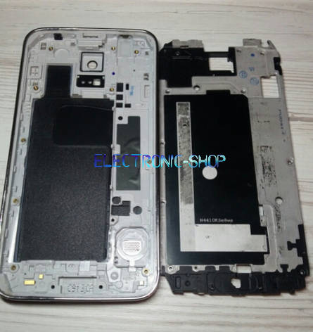 Корпус Samsung  G900F Galaxy S5  original чорний, фото 2
