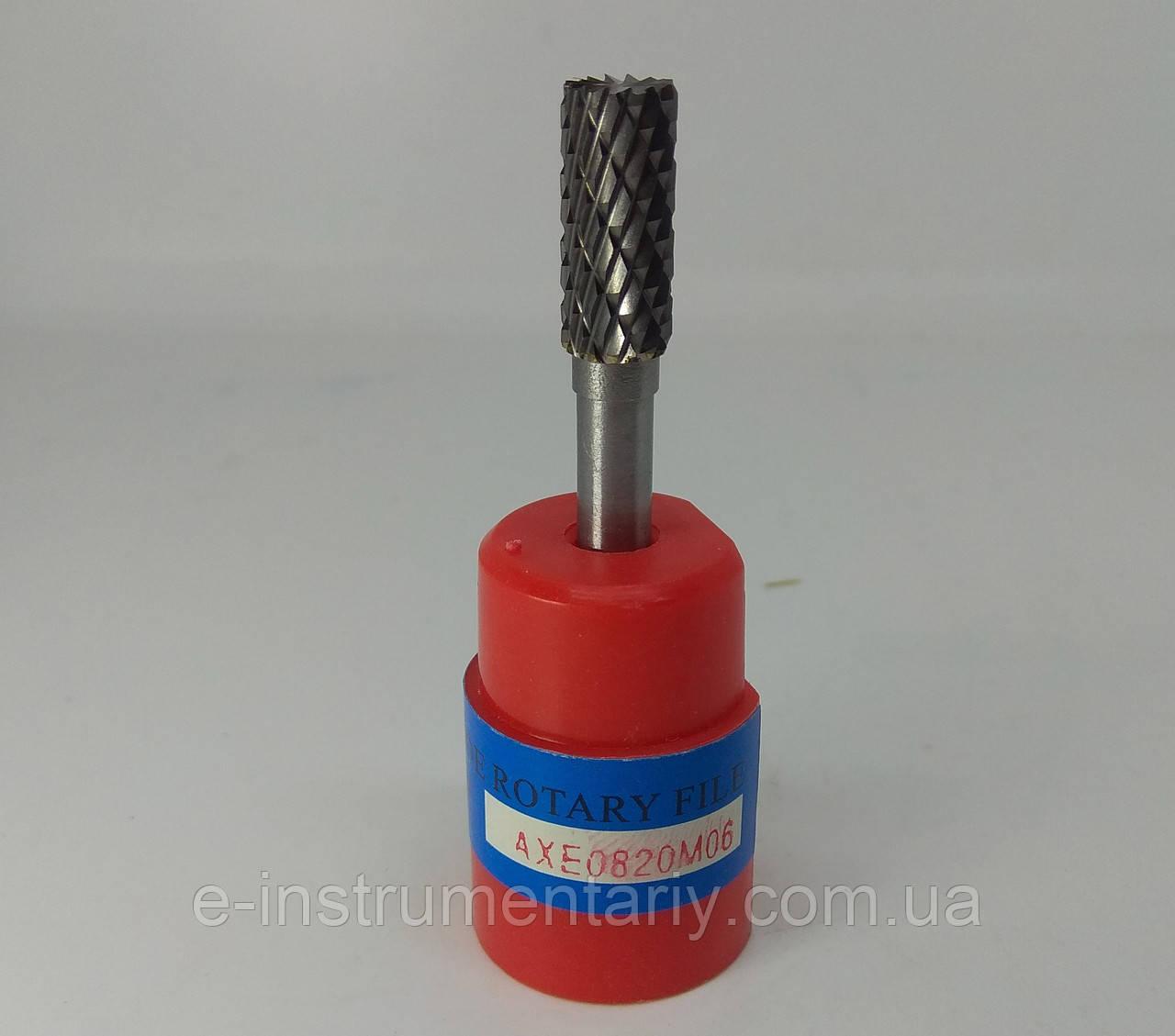 Борфреза цилиндрическая (AEX)8х18х6 твердосплавная