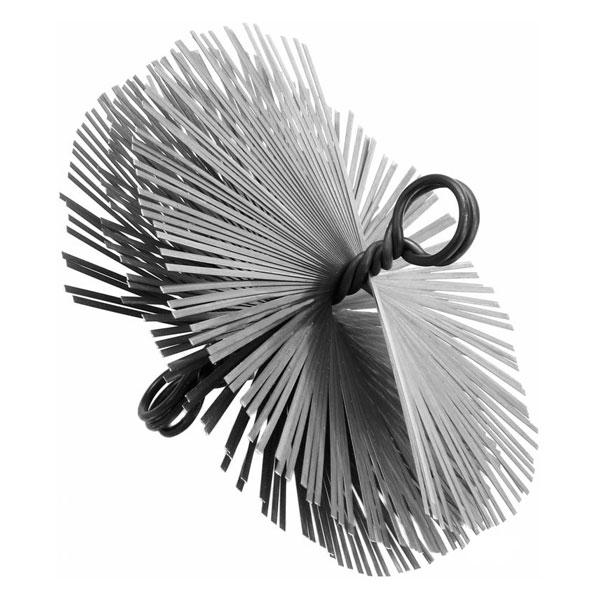 Щётка (ёрш) из плоского провода 250 мм.
