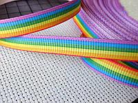 Лента репсовая,Полосатая. 10 мм