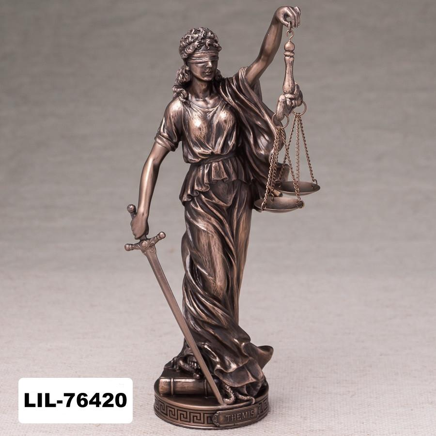 Статуэтка Фемида богиня правосудия (26 см) Veronese Италия 76420A1