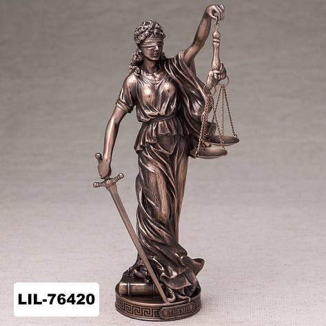 Статуэтка Фемида богиня правосудия (26 см) Veronese Италия 76420A1, фото 2