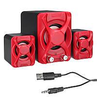 USB2.1 Mini Computer Speaker Heavy Bass Stereo USB-гарнитура для портативного компьютера