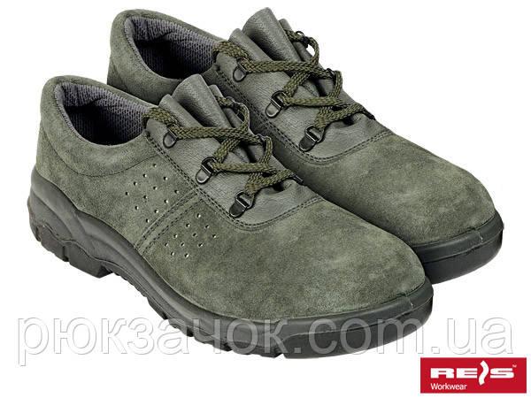 Туфли замшевые Польша BRV REIS