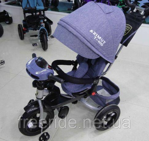 Детский трехколесный велосипед Azimut T-400 AIR+USB