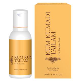 Кумкумади масло 100%, Kum Kumadi Thailan, 50 мл с шафраном - лучшие, что Вы можете сделать для Вашей кожи