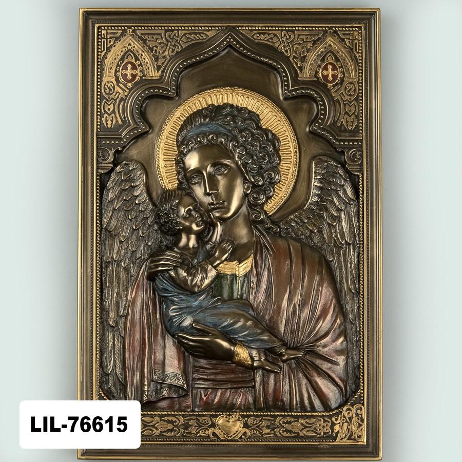 Икона Мария с младенцем Veronese Италия (16*23 см) 76615A4