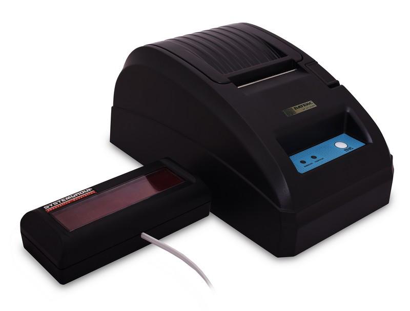 Фіскальний реєстратор Datecs FP-101 Smart (з індикатором dpd-204)