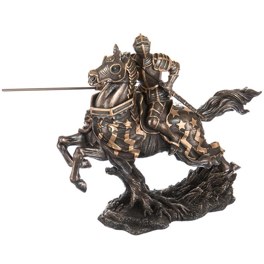 70040 A4  Статуэтка Всадник с мечем Veronese Италия ( 31 см)