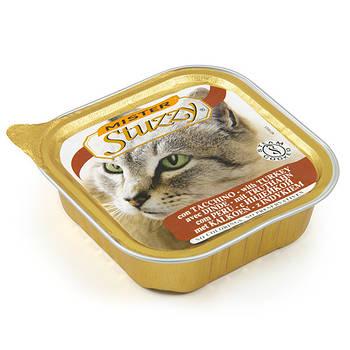 Влажный корм MISTER STUZZY Cat Turkey МИСТЕР ШТУЗИ ИНДЕЙКА для кошек, паштет, 100г