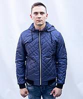 Куртка бомбер мужская Осенняя спортивная стеганная на синтепоне короткая