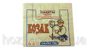 """Пакет фасовочный 24х43 """"Козак"""" 100шт."""