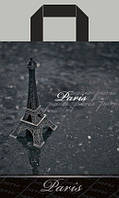 """Пакет ламинированный с петлевой ручкой """"Париж"""" 23х30см. 25шт."""