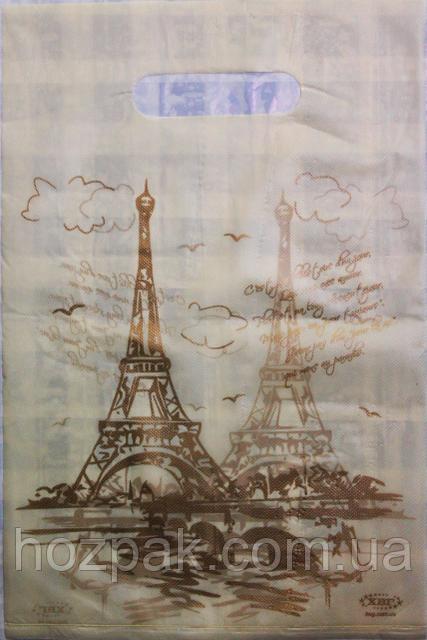 """Пакети поліетиленові типу банан """"Париж"""" 20х30 100шт."""