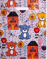 """Пакеты полиэтиленовые """"Медвежонок"""" (30х37+3) 25шт."""