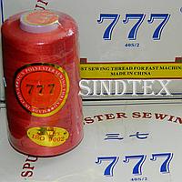 """010 Нитки """"777""""  швейные цветные 40/2 4000ярдов (от 6 бобин)"""
