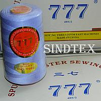 """017 Нитки """"777""""  швейные цветные 40/2 4000ярдов (от 6 бобин)"""
