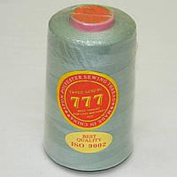 """113 Нитки """"777""""  швейные цветные 40/2 4000ярдов (от 6 бобин)"""