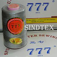 """296 Нитки """"777""""  швейные цветные 40/2 4000ярдов (от 6 бобин)"""