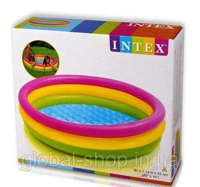 Надувной детский бассейн Intex 57412