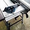 Стационарная циркулярная пила дисковая 250 мм Eurotec TS 2000, циркулярный станок, настольная циркулярная пила, фото 5