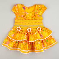 Летнее платье для девочки 12, 24 месяца, фото 1