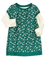 Детское платье для девочки 12-18 месяцев