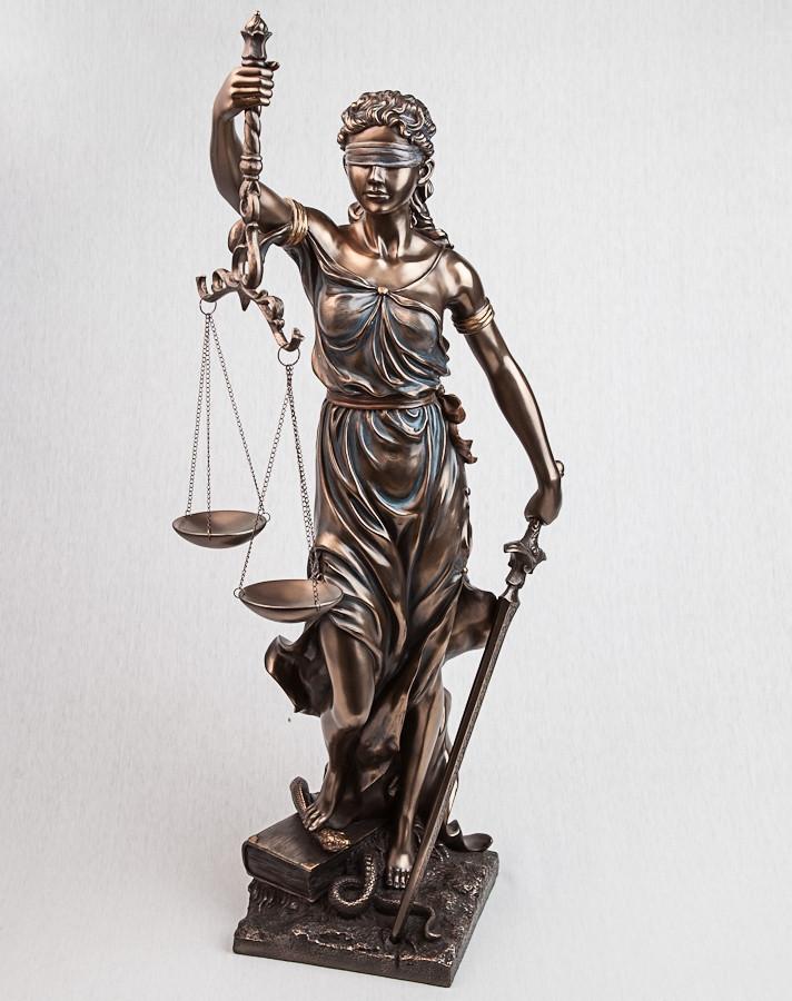 Статуэтка богиня правосудия Фемида 75 см Veronese 72919 V4