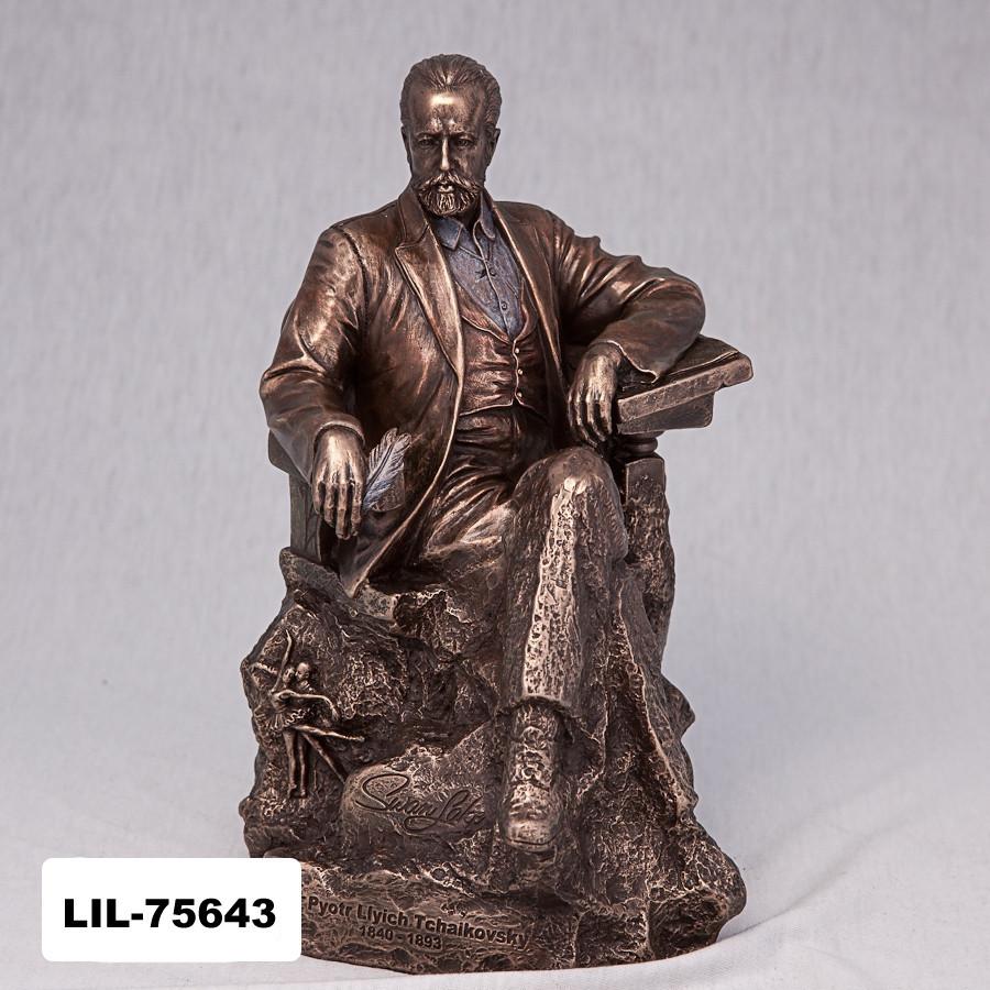 Статуэтка Петр Ильич Чайковский (22 см) Veronese Италия 75643 V4