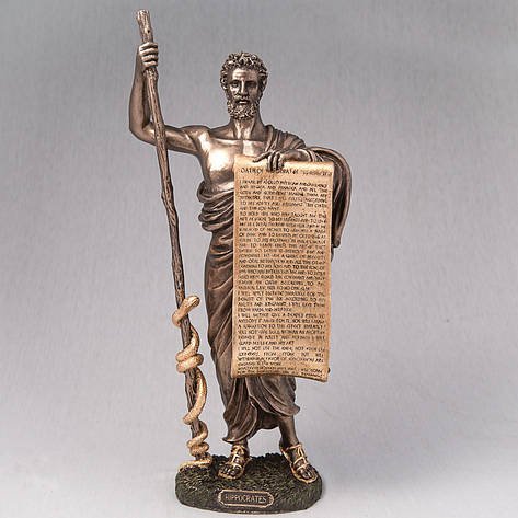 Статуэтка Гиппократ с клятвой  Veronese Италия (34 см) 76078A5, фото 2