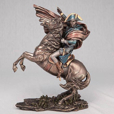 Статуэтка Наполеон на коне (23 см) 73444 A4 Veronese Италия, фото 2
