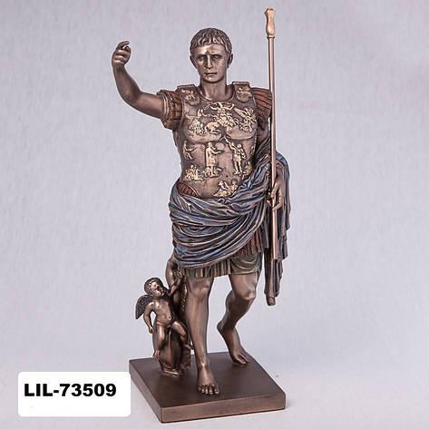 Статуэтка Император Август (29 см) 73509 A4 Veronese Италия, фото 2