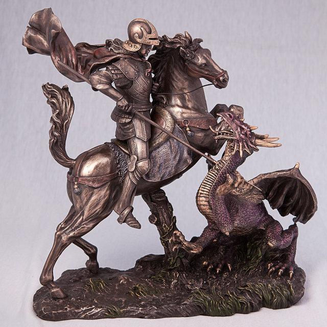 Статуэтка Георгий Победоносец (34 см) 73533 A4 Veronese Италия