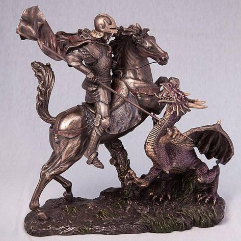 Статуэтка Георгий Победоносец (34 см) 73533 A4 Veronese Италия, фото 2