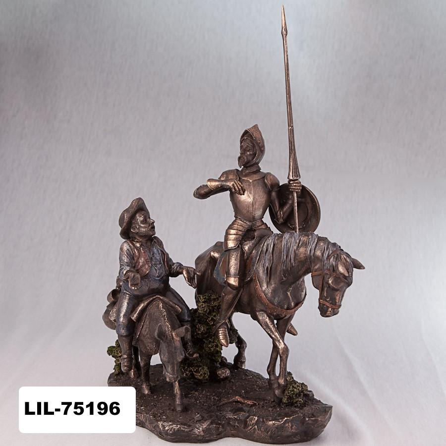 Статуэтка Дон Кихот и Санчо Панса Veronese Италия  (31 см) 75196 A4