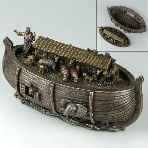 Статуэтка-шкатулка Ноев ковчег 76675A4 (25*13 см) Veronese Италия
