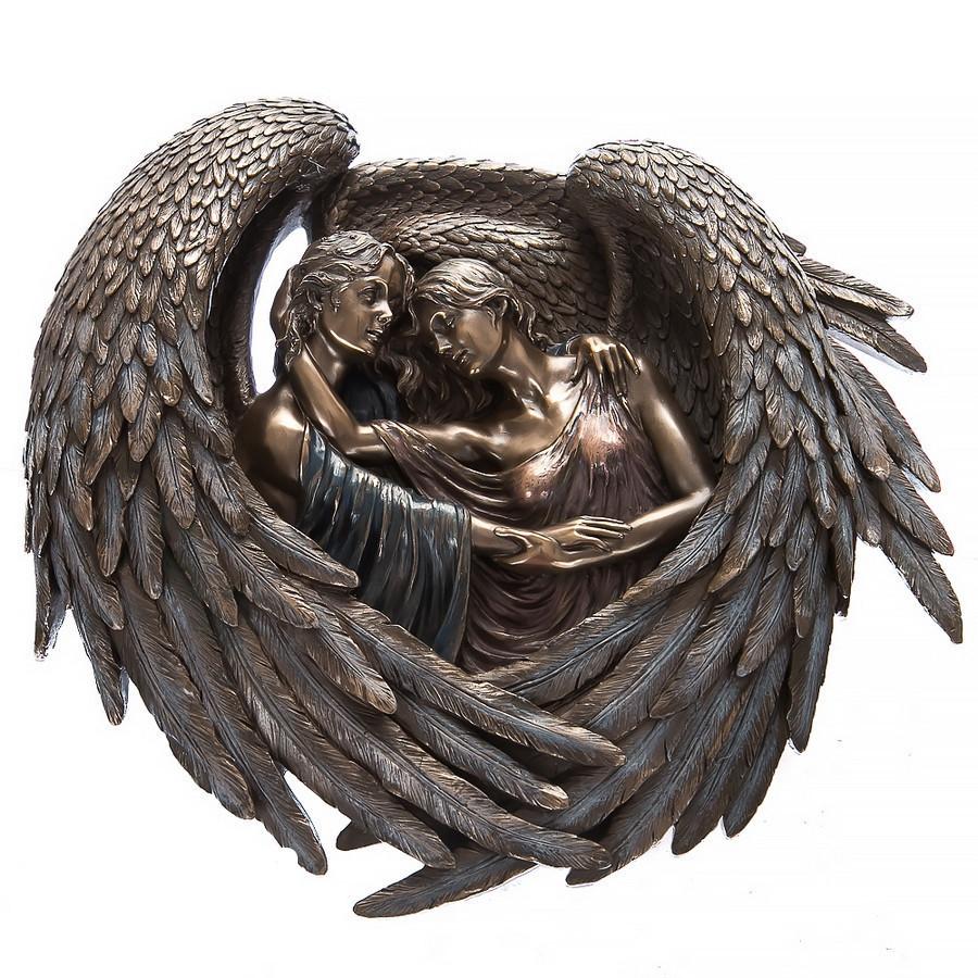 Статуэтка Объятья ангелов Veronese Италия 73779 V4