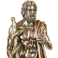 Статуэтка Асклепий бог медицины и врачевания 29 см Veronese 77123A4 Италия, фото 2