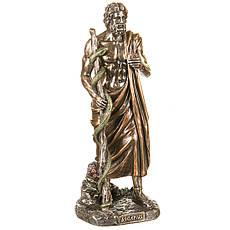 Статуэтка Асклепий бог медицины и врачевания 29 см Veronese 77123A4 Италия, фото 3