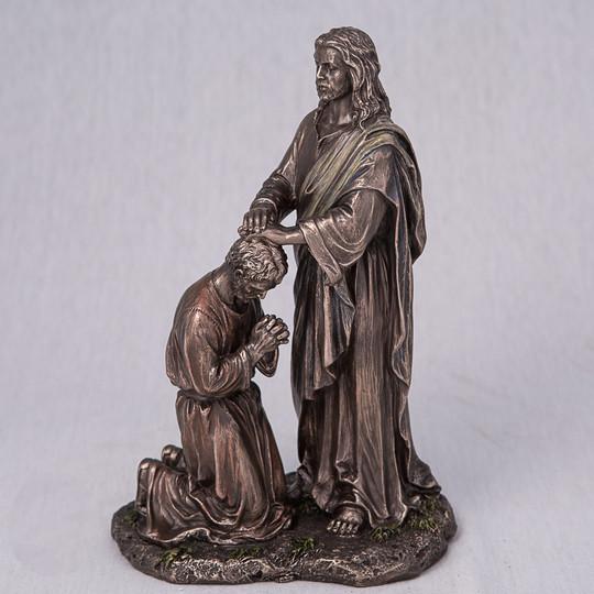 Статуэтка Всепрощающий Иисус 76259A4 (20 см) Veronese Италия