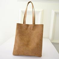 """Женская матовая сумка на плечо, шоппер """"Братислава 2 Ginger"""", фото 1"""