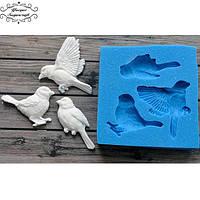 """Молд """"Птички"""" Birds для полимерной глины,смолы, жидких пластиков"""