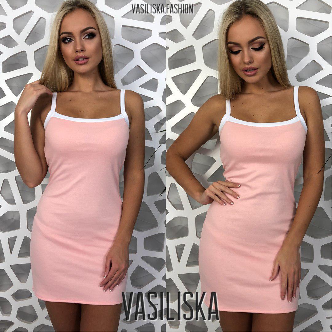 e766248288f Спортивное платье на бретельках ан-180507-1 — купить недорого в ...