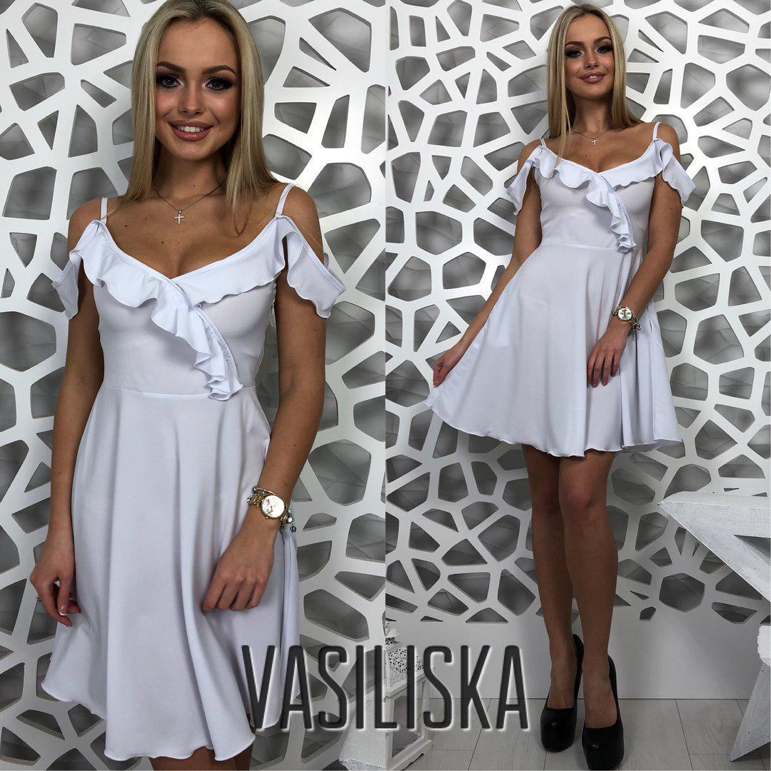 919524b80ef Нежное короткое платье на лето ан-180509-4 — купить недорого в ...