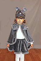 Новогодний костюм Мышка для девочки