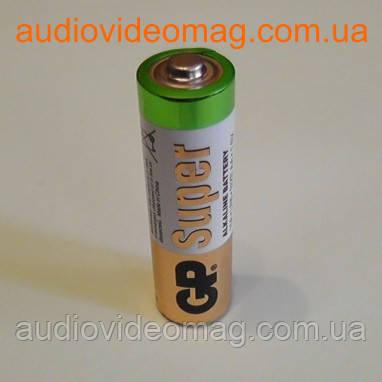 Батарейка GP LR6 АА 1,5 V щёлочная Alkaline пальчиковая