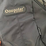 Однолямочный рюкзак 10 л One polar W1292 спортивный городской черно-синий, фото 9